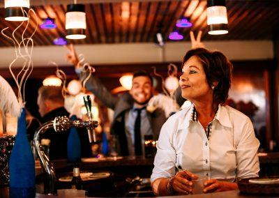 Gezelligheid aan de bar