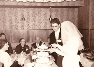Bruiloften sinds 1950