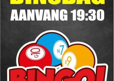 Bingo dinsdag